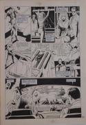 PAUL GULACY / DAN ADKINS original art, CODENAME DANGER  #4, pg 16, 11x17, Pope
