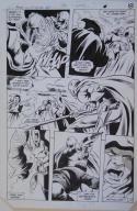 GENE COLAN / BOB McLEOD original art, JEMM SON of SATURN #10 pg 18,10x 16, 1985