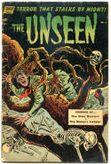 The UNSEEN #5, VG-, Toth, 1952, Golden Age, Pre-Code Horror, more GA in store