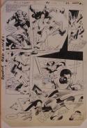 GENE COLAN / KLAUS JANSON original art, JEMM SON of SATURN #1 pg 22, 11x16, 1984