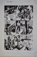 PAUL GULACY original art, SLASH MARAUD #3 pg 21, 13