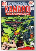 KAMANDI #10, FN/VF, Jack Kirby, Last Boy on Earth, 1972, more JK  in store