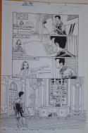 GLENN FABRY original art, AUTHORITY KEV #1, pg 20, 11