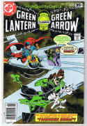 GREEN LANTERN #105, NM-, Arrow, Mike Grell, Black Canary, more in store