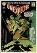 UNEXPECTED #109,Peril, Baptism, Horror, Witch,1968, FN+, more Bronze age horror