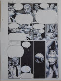 RICHARD CORBEN original art, RIP IN TIME #1 pg 5, Signed, 12x16, Peeper, Watch